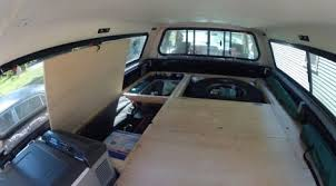 Truck Build- Phase 2, Sleeping and Storage