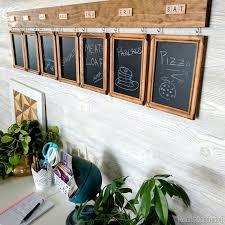 Chalk Board Menu Board Diy Menu Board For Weekly Meal Planning Reality Daydream