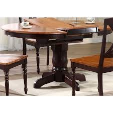 Iconic Furniture Company Whiskey/ Mocha Round Dining Table
