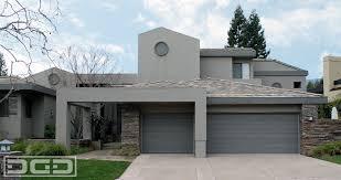 contemporary 03 custom architectural garage door