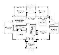 for the large family 44040td architectural designs house plans floor image 1463841383 14792 large house floor