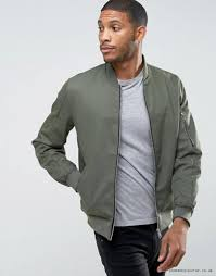 mens jackets coats ojo46755 khaki asos er jacket