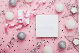 Blank Boxes To Decorate Christmas Mockup With Empty Paper Blank Gift Box And Decoration 52