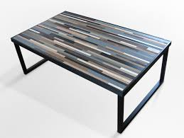 industrial reclaimed furniture. Modern Industrial Furniture Reclaimed Wood Table Coffee With Rectangular Zebra Simple