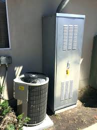 water heater enclosure in garage outdoor shed