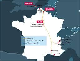 eurostar brussels map  map of brussels eurostar (belgium)