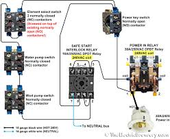 v contactor wiring diagram v image wiring wiring diagram for 240v contactor wiring image on 240v contactor wiring diagram