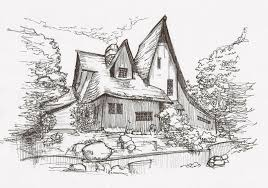 architecture sketch wallpaper. Bay Area Architecture Sketch 6 Wallpaper