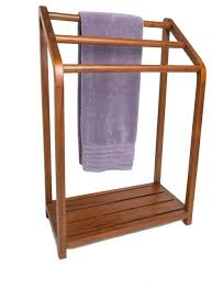 towel stand wood. Wood Towel Rack Spa Collection Versatile Teak Transitional Racks And Stands . Stand I