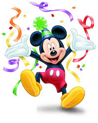 Mickey Mouse Birthday Clipart - 66 cliparts