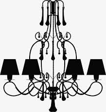 black chandelier silhouette black clipart chandelier clipart silhouette clipart png image and clipart