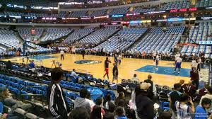 Mavericks Seating Chart Rows American Airlines Center Section 117 Dallas Mavericks