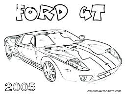 Race Car Coloring Pages Cars Printable Color Racing For Kids Pdf