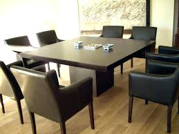 marvelous modern square dining table dining table for 8 modern square dining table dining room table