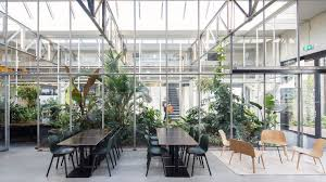 Space Encounters converts Amsterdam factory into greenhousefilled offices