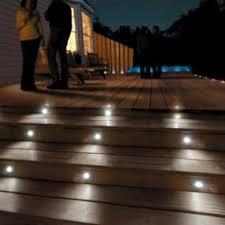 Paradise six-piece 12-volt LED deck and stair light kit