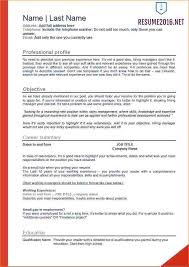 Resume Examples 2016 Simple 60 Resume Examples Business Proposal Templated Business