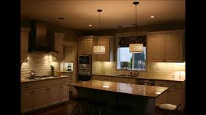 Pendant Kitchen Island Lights Captivating Pendant Lightings Over Kitchen Island Youtube