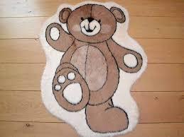 cute dancing teddy bear warm fun rug fluffy furry baby bedroom floor mat