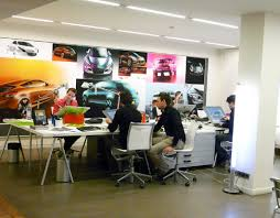Office designer Floor Centre De Design Renault Wwwmaterialistecom Kelly Robinson Patrick Le Quément Office Design Shaping Creative Mind