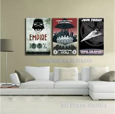 no frame black and white poster star wars empire modern canvas wall art print pictures for bedroom decoration large size in painting calligraphy from  on cheap canvas wall art prints with no frame black and white poster star wars empire modern canvas wall