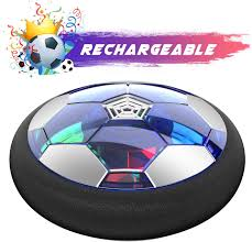 Nerf Rocket Pass Light Up Football Wistoyz Kids Toys Hover Soccer Ball Rechargeable Air Soccer Soccer Ball Indoor Floating Soccer With Led Light And Foam Bumper Perfect Time Killer