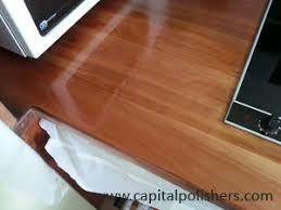 repair oil finished worktop repair white patch in wood