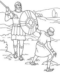David And Goliath Coloring Pages Hk42 David And Goliath Coloring