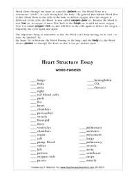 fill in the blank essay about heart structure by kathleen westrich fill in the blank essay about heart structure
