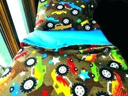 truck bedding for boys monster truck bedding set toddler boys fleece bed blue trucks full size