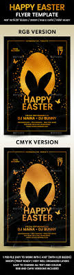 Happy Easter Flyer Template By Flyermania | Graphicriver