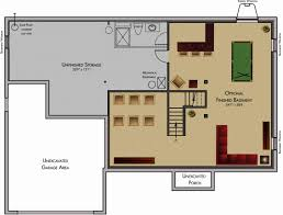 ranch home plans with walkout basements unique house plans with finished basement circuitdegeneration