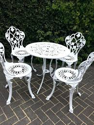 shabby chic outdoor furniture. Shabby Chic Garden Chairs Full Size Of White Furniture Set Table And Four Outdoor Metal Uk