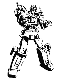 Download Your Free Transformers Stencil Here