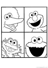 Small Picture 13 best Sesame Street Coloring Pages images on Pinterest