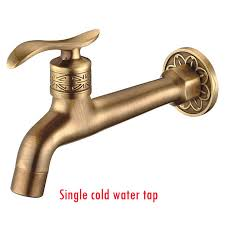 garden faucet. hot sale antique brass bibcock, outdoor faucet, decorative garden tap/washing machine water mixer tap-in bibcocks from home improvement on faucet