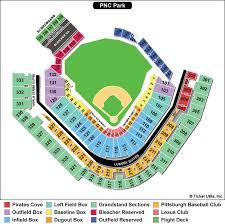 Pirates Stadium Seating Chart