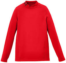 under armour shirts for boys. under armour boys\u0027 coldgear evo mock fitted long sleeve protection layer: amazon.co.uk: clothing shirts for boys