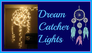 How To String Dream Catcher Dream Catcher String Lights DIY Room Decor YouTube 61