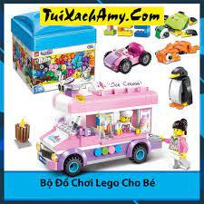 Bộ Đồ Chơi Lego Xếp Hình 460 Bộ xếp hình Enlighten - Túi Xách Amy