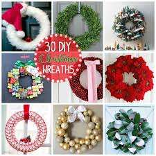 These Christmas wreaths include Santa themes or those that use candy, and  some are fruit