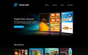 Online Menu Design Software Menu Cast Web Design