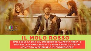 IL MOLO ROSSO': RAI2 SEGUE LA SCIA DEL SUCCESSO DE 'LA PORTA ...