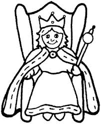 Kings and queens coloring page to print and color. Queen Coloring Pages Pictures Whitesbelfast