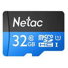 Thẻ nhớ Camera NETAC 32GB class 10 chính hãng