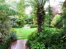 Small Picture garden design using brick with gazebo hedging Gardens photo 304720