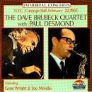 N.Y.C., Carnegie Hall, February 22, 1963: The Dave Brubeck Quartet with Paul Desmond
