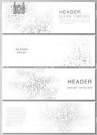 ヘッダー バナー デザイン テンプレートの編集可能なレイアウトの
