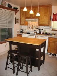 Narrow Kitchen Island Kitchen 13 Small Kitchen Brown Wooden Kitchen Island With Gray