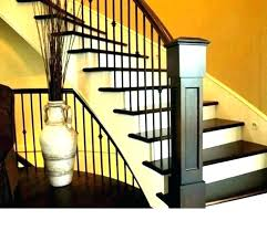 wooden railing designs for stairs wood stairs ideas wrought iron banister wood staircase railing ideas